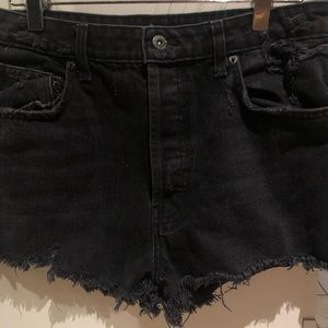 Black Carmar Shorts from LF
